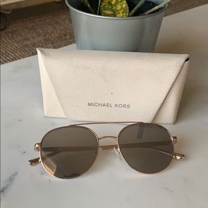 Michael Kor aviator sunglasses